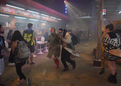 Blade Runner Experience sdcc 2017 - runaway