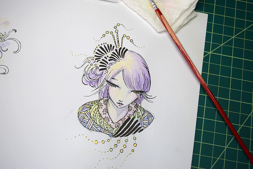 dango girl sketch