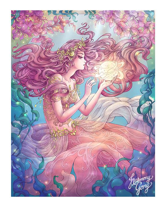 Mermaid Magic by Harmony Gong