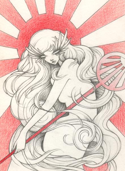 Goddess of the Rising Sun