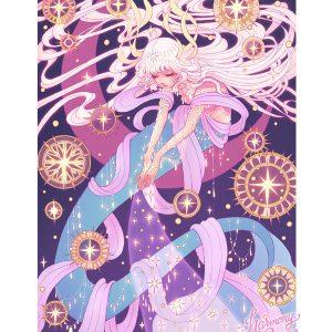 mermay stardust art by harmony gong