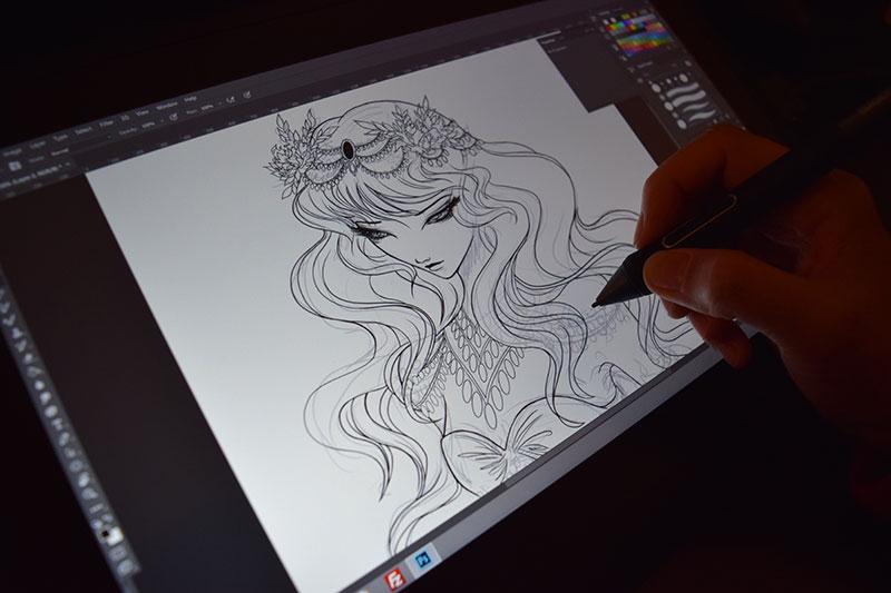 Rainy Day Sketch