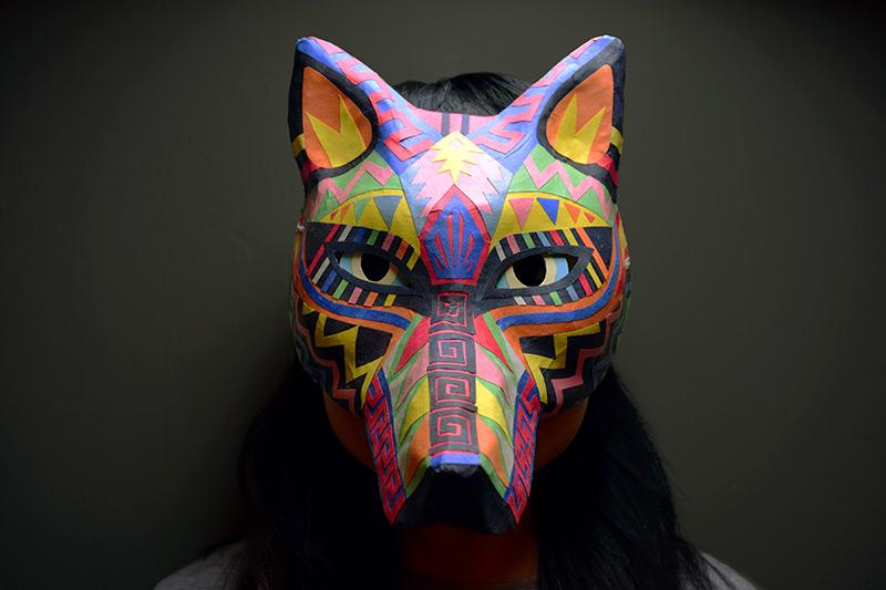 DIY Halloween Wolf Mask